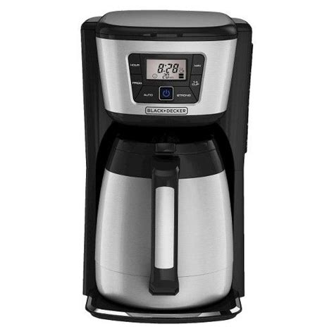 Otherwise, different companies are trying to provide all these features simultaneously from decades. BLACK+DECKER 12-Cup Thermal Drip Coffee Maker : Target | Thermal coffee maker, Best drip coffee ...