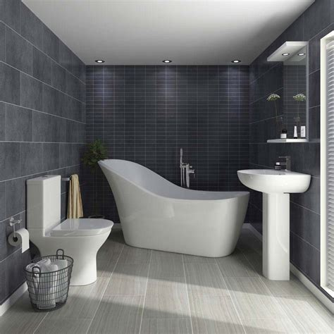 Vegas Modern Freestanding Bath Suite At Victorian Plumbing Uk