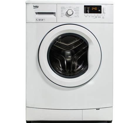 a washer and dryer in one buy beko wm74145w washing machine white dcx83100w