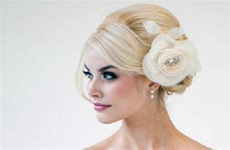 Wedding Hairstyles Side Swept Bun Pictures