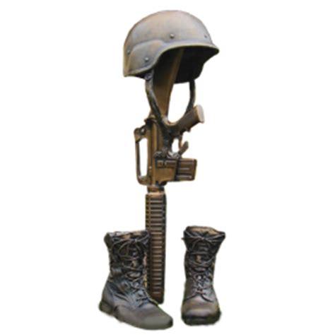 military fallen soldier bronze urn memorial gallery