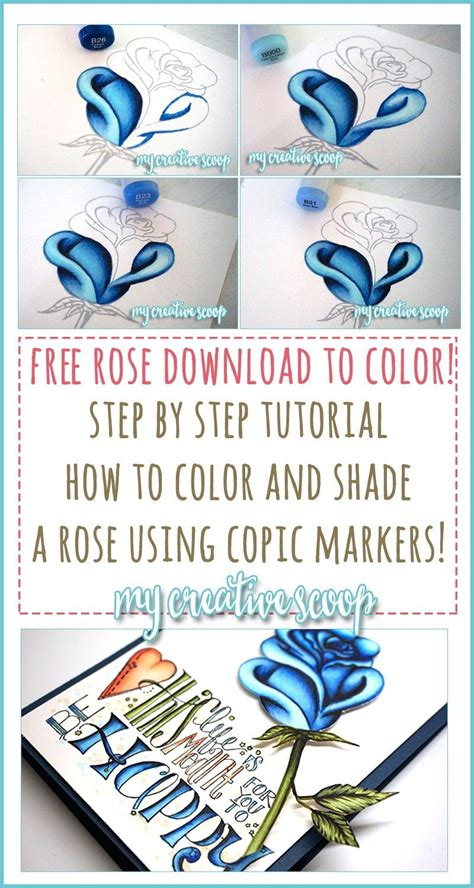 Coloring Using Copic Markers by How To Color And Shade A Using Copic Markers Copics