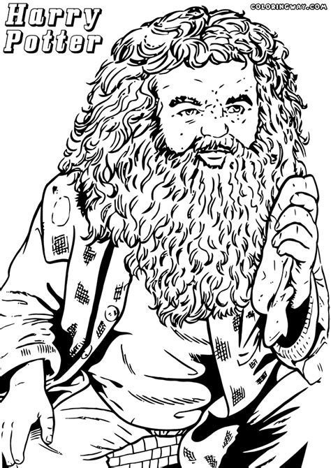 harry potter coloring pages coloring pages