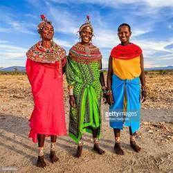 African Jungle Tribe Tribal Women