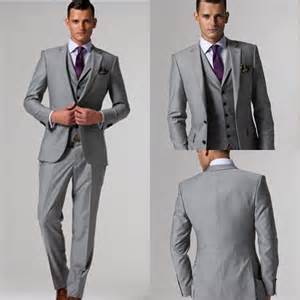 custom wedding suits mens grey suits for weddings dress yy