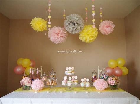 Diy Party Decoration Ideas  Diy Home Decor