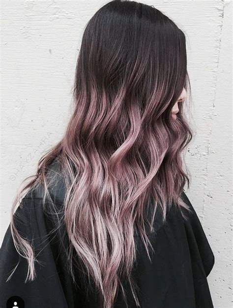 Pinterest Linell Hair Styles Pink Ombre Hair Ombre