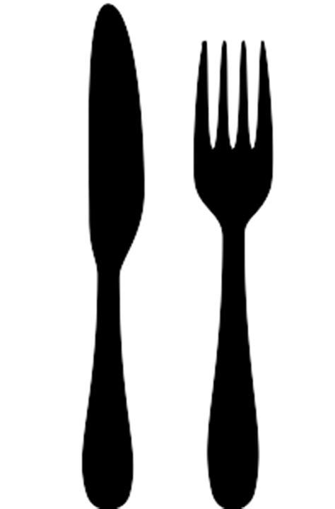 fork and knife clipart black and white fork knife vector driverlayer search engine
