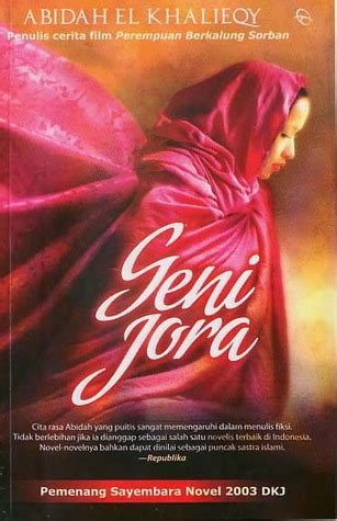 geni jora geni jora by abidah el khalieqy reviews discussion