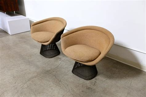 warren platner bronze lounge chairs for sale at 1stdibs
