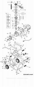 Makita Air Compressors Parts Diagram For Mac5200