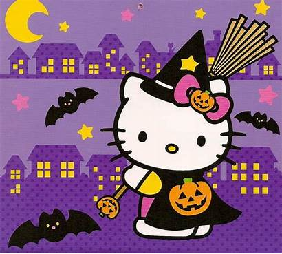 Kitty Hello Halloween Wallpapers Backgrounds Desktop Background