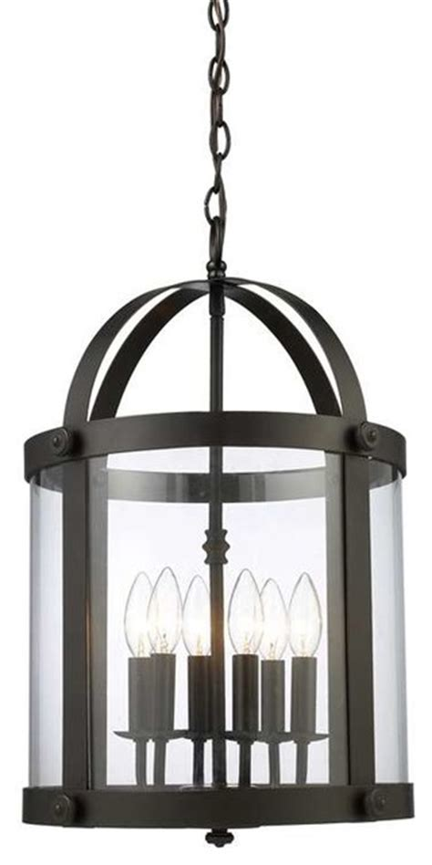 Transitional Chandeliers For Foyer by Elk Lighting 66282 6 Chesapeake Transitional Foyer