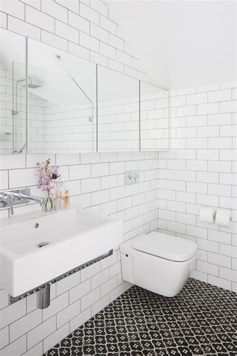 Modern Bathroom White Subway Tile by Subway Tile Sizes For Areas Homesfeed