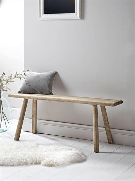 long ash bench interior design   wooden bench