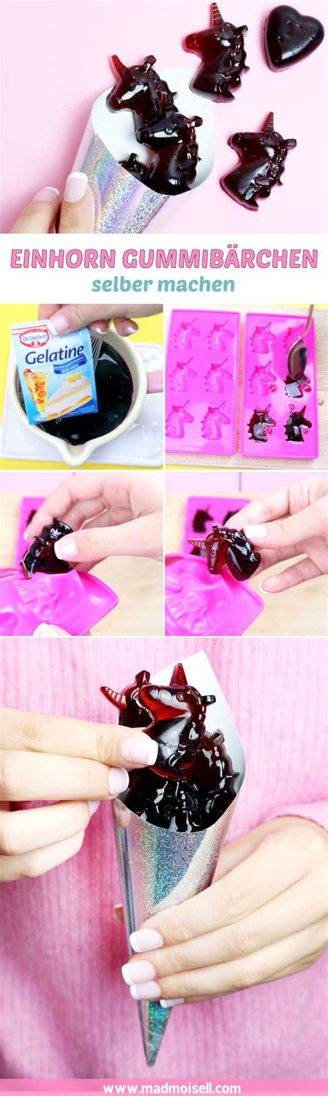 Gummibärchen selber machen Einfaches Rezept mit