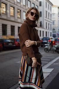 Mailand Im Winter : streetstyle gestrickter wickelrock und strickpulli beste trend mode ~ Frokenaadalensverden.com Haus und Dekorationen