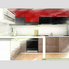 How To Install A Kitchen Backsplash (with Pictures)  Wikihow