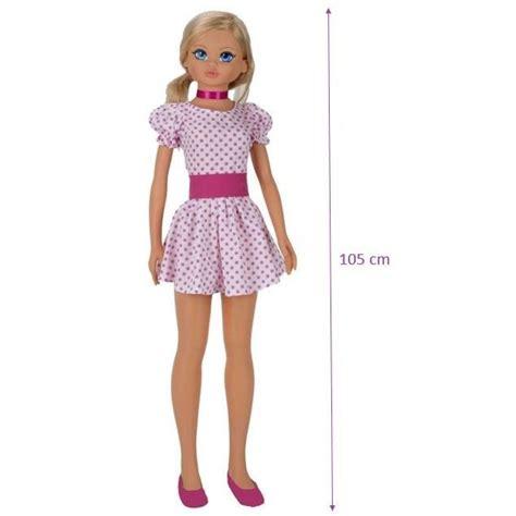 carrefour canapé vicam poupée géante 105cm achat vente poupée
