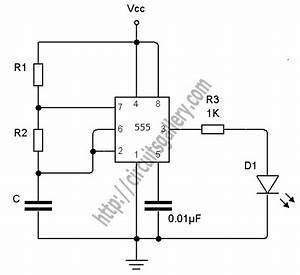 timer circuit page 13 meter counter circuits nextgr With 555 timer page