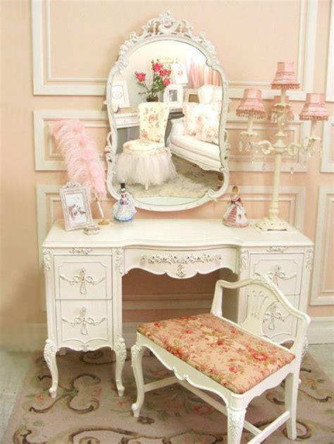 shabby chic vanity desk vintage shabby chic vanity dresser vanity items pinterest