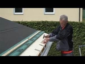 Ortgangblech Flachdach Montieren : ortblech ohne wasserfalz montieren pappdach doovi ~ Whattoseeinmadrid.com Haus und Dekorationen