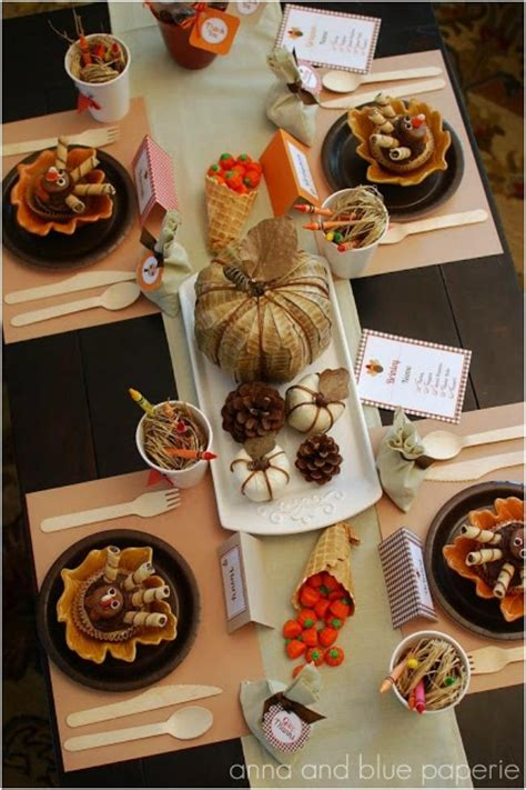 thanksgiving table setting ideas this decorations for a thanksgiving kids table spaceships and laser beams