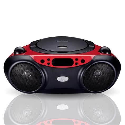 bluetooth cd player blackweb bluetooth cd player with fm radio and black