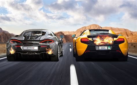 McLaren 570S & 650S Wallpaper