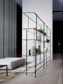 Thin Modern Metal Bookshelf