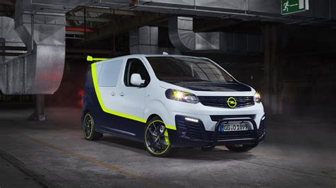 Opel Vehicles by Opel S Special Vehicles Division Has Modified A Zafira