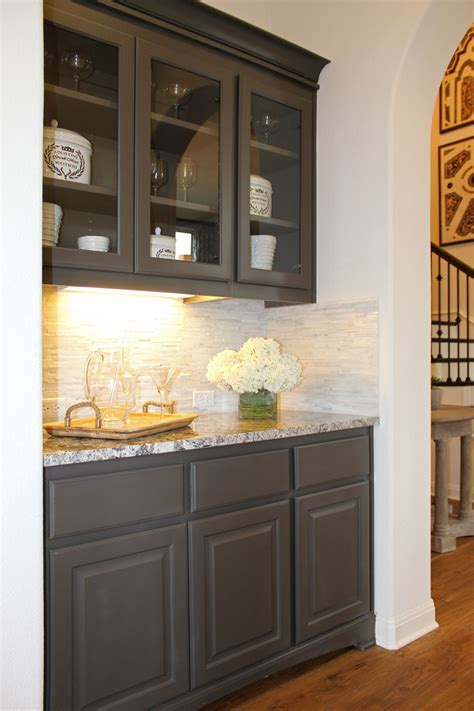 butlers pantry  burrows cabinets central texas