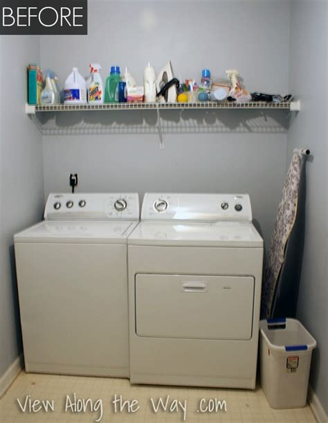Living Room Makeovers Diy by Laundry Room Makeover Diy Laundry Room Before And After