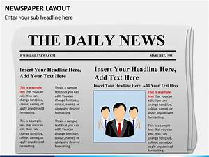 Editable Newspaper Template Newspaper Layout Powerpoint Sketchbubble