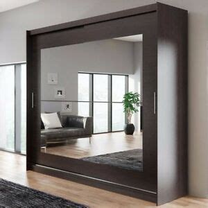 Wardrobe Hanging Mirror by Wardrobe Kola 12 250 Sliding Doors Mirror Hanging Rail