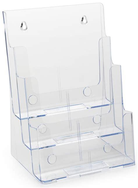 plastic magazine display molded holder   tiers