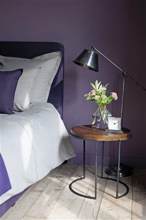 couleur de chambre violet couleur peinture chambre violet flamant