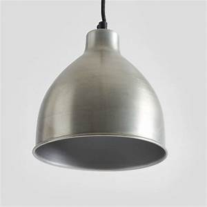 Antique zinc pendant light by horsfall wright notonthehighstreet