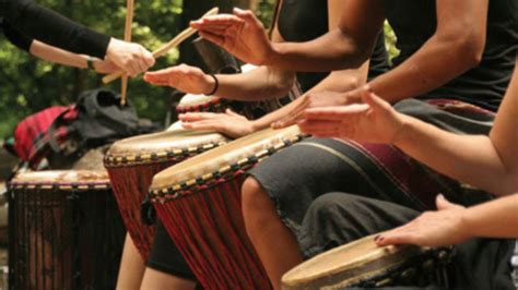 participating  drum circles improves health  quality