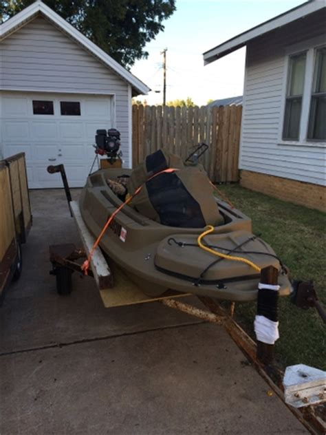 Beavertail Stealth Boat Trailer by Beavertail 1200 Layout Boat With Mud Motor And Blind Nex