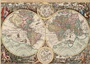 Carte Du Monde Metallique : carte du monde 1500 teile art puzzle puzzle acheter en ligne ~ Teatrodelosmanantiales.com Idées de Décoration