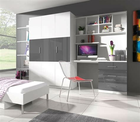 Wardrobe Wall Unit Furniture by Wall Unit Alta 3 Home Office Furniture Wardrobe Desk