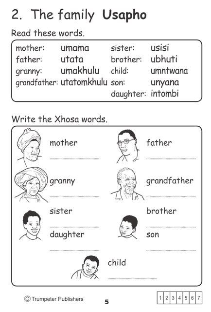 simply xhosa workbook  additional language trumpeter