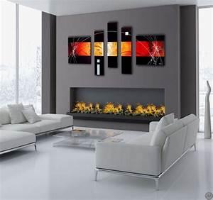 Tableau Peinture Moderne : future design abstract tableau moderne ~ Teatrodelosmanantiales.com Idées de Décoration