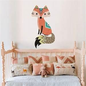 forest, animals, elk, fox, rabbit, wall, sticker, for, kids, room, children, wall, decal, nursery, bedroom