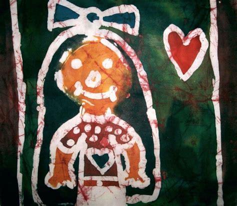 Vosková batika. vyrobili školáci v našem výtvarném studiu ...