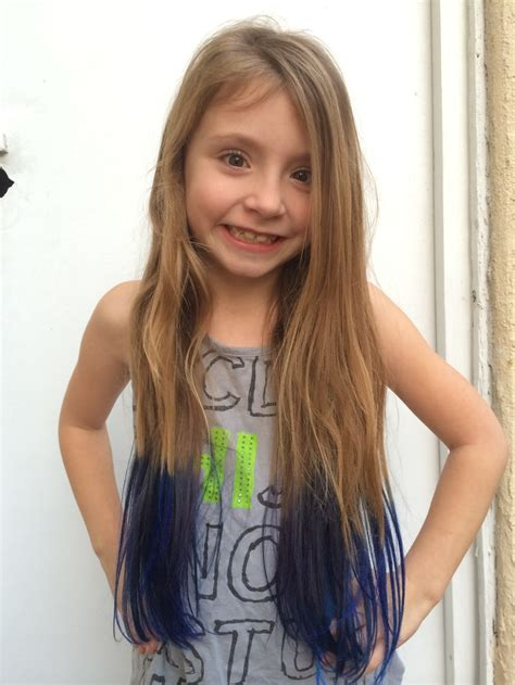 Dip Dye Tutorial How To Dye Your Childs Hair — Such A Dahl