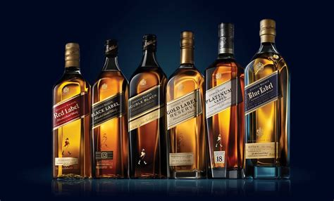 whisky brands walker johnnie johnniewalker