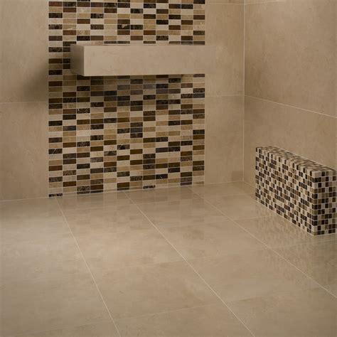 mosaique marbre salle de bain mosa 239 que marbre mixcolor lamelles marron beige indoor by