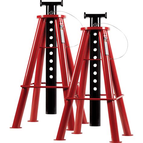 Tall Jack Stands by Sunex High Height Jack Stands 10 Ton Capacity 28 1 8in